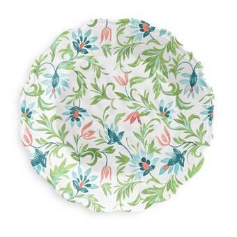 World Menagerie Bonnett Coupe Round Melamine Dinner Plate Wayfair