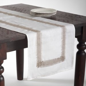 Martinique Banded Design Table Runner