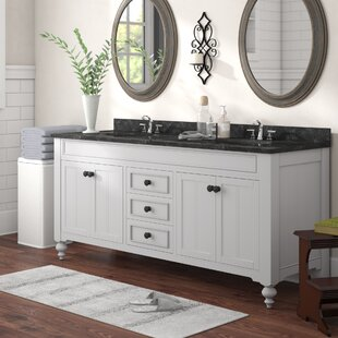 Cabery 72 Double Bathroom Vanity Set by Darby Home Co