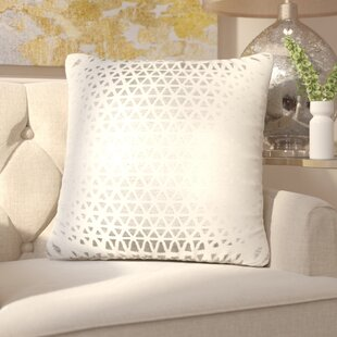 Joellen Decorative Cotton Throw Pillow