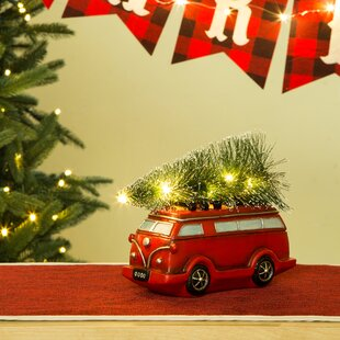 lighted truck table decor