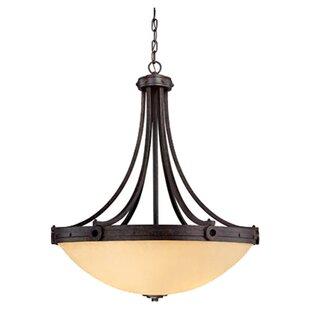 Britt 4-Light Bowl Pendant ByLaurel Foundry Modern Farmhouse
