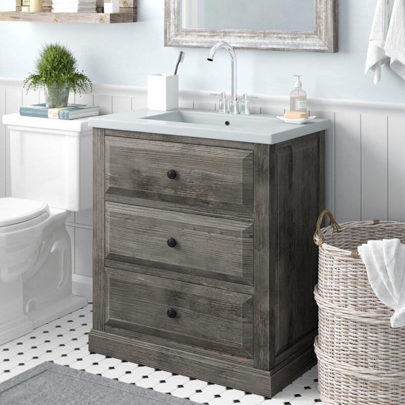 laurel foundry modern farmhouse bellevue 30 single sink bathroom rh wayfair com