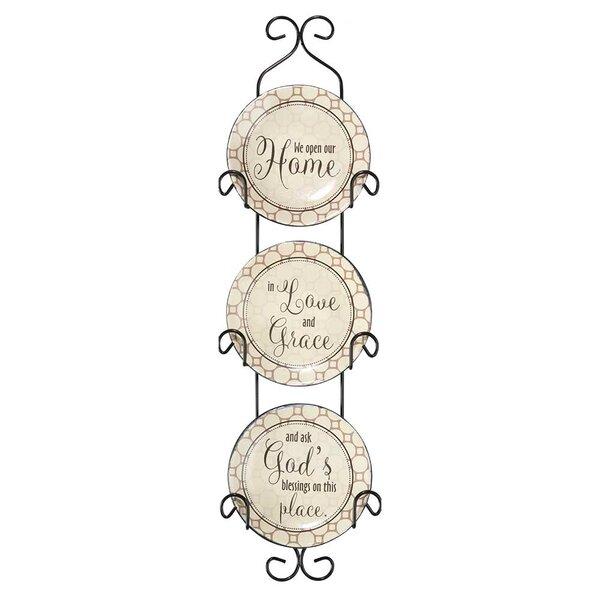 Set Of 4 Decorative Plates Wayfair