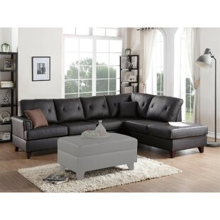 Red Barrel Studio Servis Leather Sectional