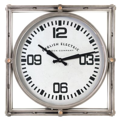 Large Square Wall Clocks You Ll Love In 2020 Wayfair