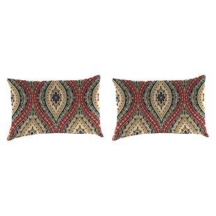 Willowick Accessory Toss Indoor/Outdoor Lumbar Pillow (Set of 2)