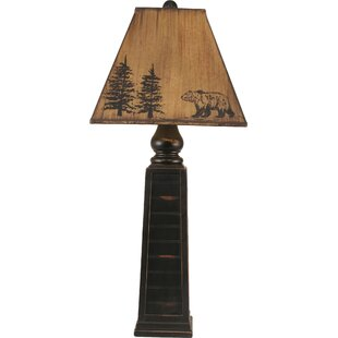 Rustic Living Pyramid Pot 33.5 Table Lamp