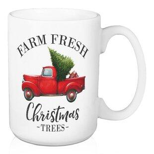 Cates Farm Fresh Christmas Trees Coffee Mug