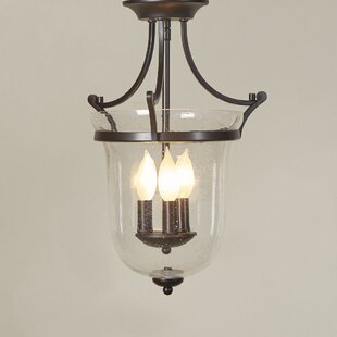 Marcet 3-Light Semi Flush Mount by Birch Lane? Heritage