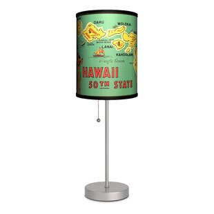 Lamp-In-A-Box Travel Hawaii 50th State Map 20