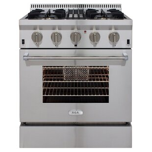 "Professional 30"" Free-standing Dual Fuel Range"