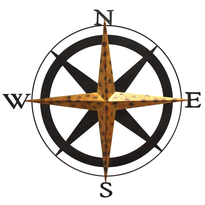 Boreas Compass Wall Décor
