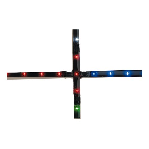 Cross 7cm Under Cabinet Strip Light Symple Stuff Colour: Red
