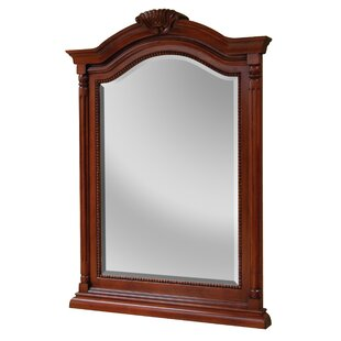 Price comparison Gus Arch/Crowned Bathroom/Vanity Mirror By Hazelwood Home