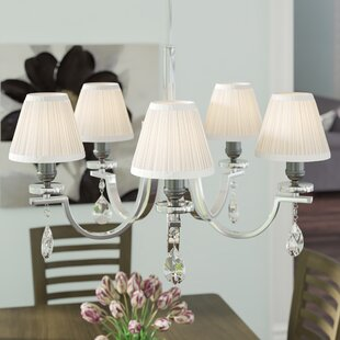 Pleat 6 Silk Empire Lamp Shade (Set of 5)