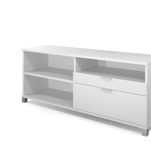 Best Reviews Pham Credenza Desk By Wrought Studio