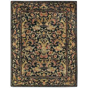 Garden Farms Black Floral Area Rug By Capel Rugs