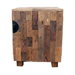 Wood Patch Accent Cabinet by Asian Art Imports