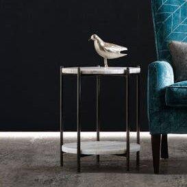 Melange Blythe End Table by Hooker Furnit..