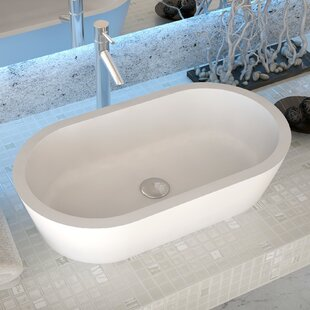 Affordable Vaine Stone Oval Vessel Bathroom Sink By ANZZI
