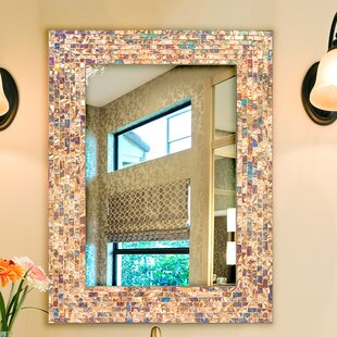 Best Reviews Rectangle Glass Accent Wall Mirror By Bloomsbury Market