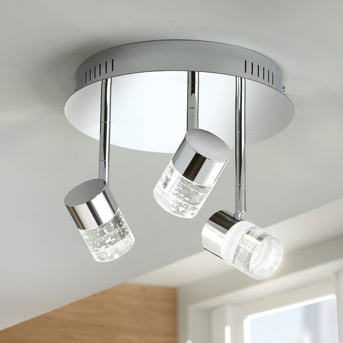 Gaither 3 Light Led Directional Spotlight