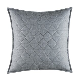 Clearview Quilted 100% Cotton Throw Pillow