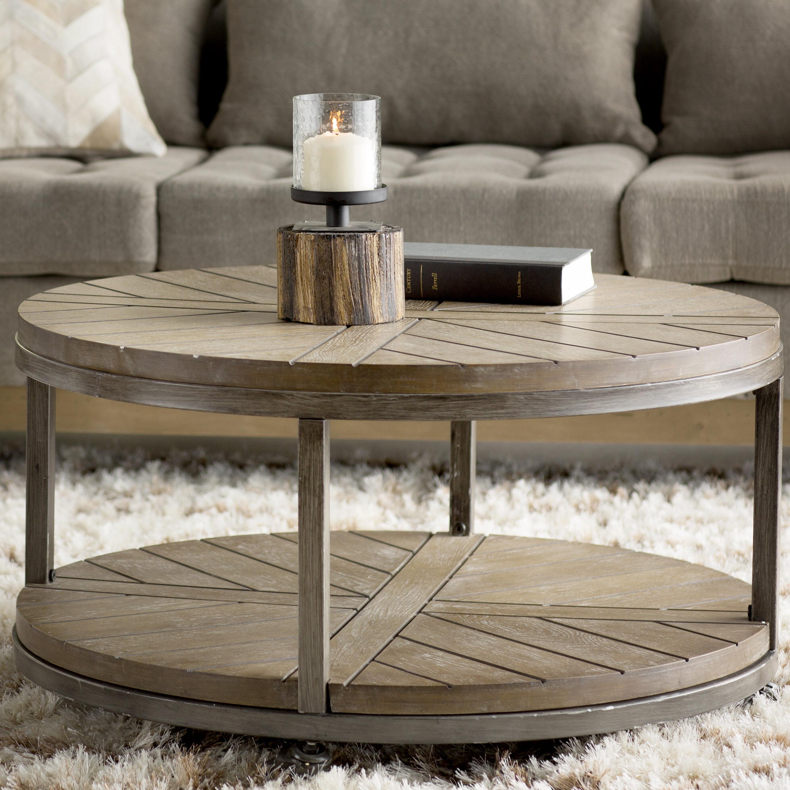 Rabideau Coffee Table & Reviews