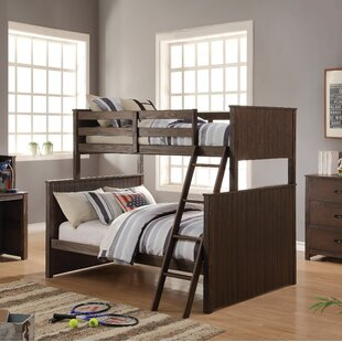 Needham Wooden Twin over Full Bunk Bed