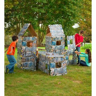 32 Piece Fantasy Forts Castle Playhouse Set By Magic Cabin