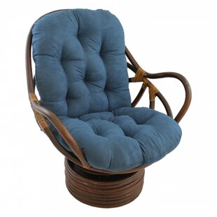 Swivel Papasan Chair By International Caravan