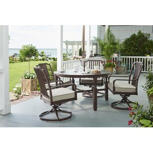 Paula Deen Home River House 5 Piece Dining Set With Cushions