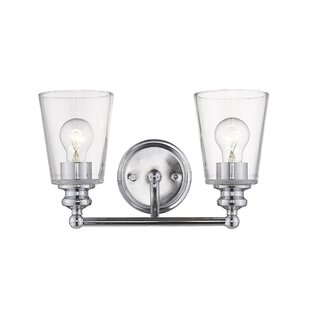 Hogue 2-Light Vanity Light by Breakwater Bay