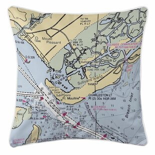 Exceptionnel Mount Pleasant, Sullivans Island, SC Throw Pillow