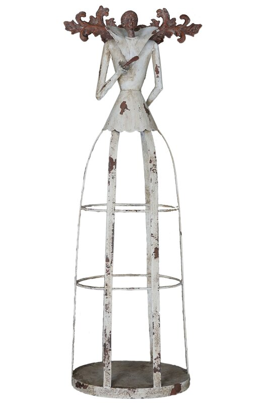 Attractiondesignhome Antiqued Weathered Garden Angel Statue Christmas Decoration Reviews Wayfair