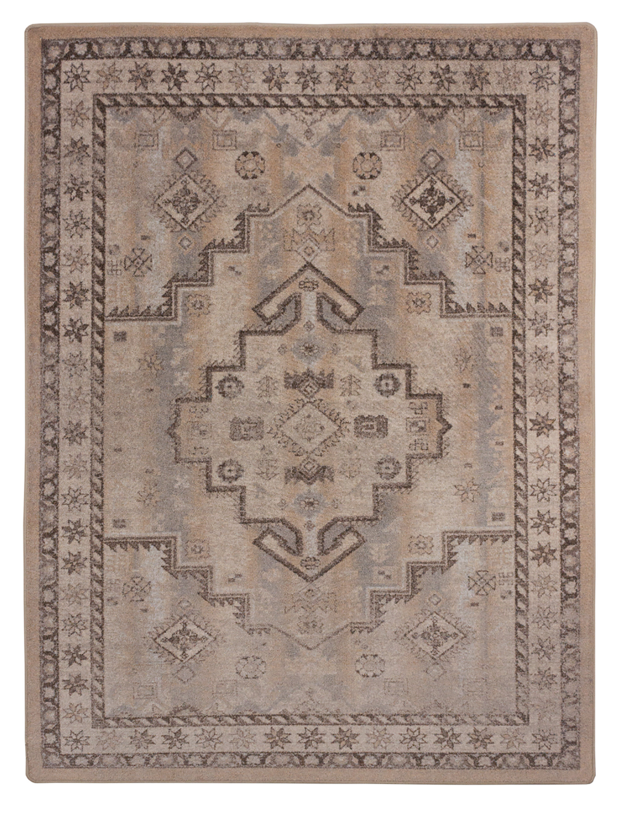 Sydney Torn Gray Area Rug