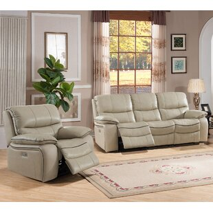 Find for Deshaun Reclining 2 Piece Leather Living Room Set by Red Barrel Studio Reviews (2019) & Buyer's Guide