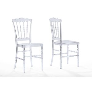 Crystal Side Chair (Set of 2) by Wholesal..