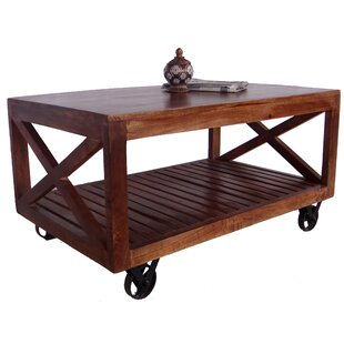Great choice Metson Coffee Table by Millwood Pines