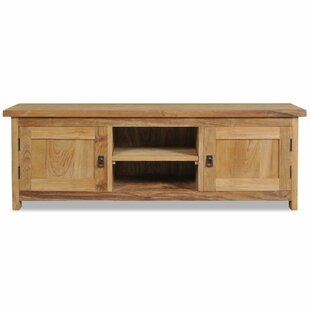 Vandergrift Solid Teak TV Stand By Marlow Home Co.