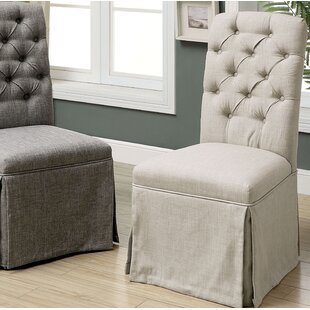 Eleanora Transitional Upholstered Dining Chair (Set of 2) By Charlton Home