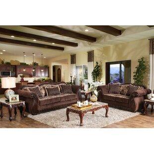 Astoria Grand Seema 2 Piece Living Room Set
