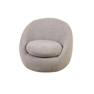 Ahuja Swivel Barrel Chair by Orren Ellis