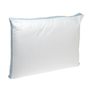 Firm Density 233 Thread-Count Quilted Sidewall Polyfill Pillow (Set of 2)