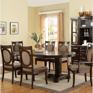 Regan 7 Piece Extendable Dining Set Hokku Designs