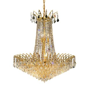 Phyllida 16-Light Chandelier by Everly Quinn