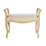 Laurie Short Upholstered Bench by Aidan Gray