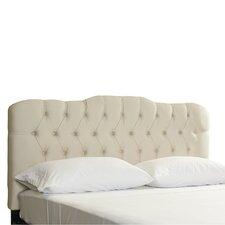 Davina Tufted Shantung Arch Upholstered Headboard