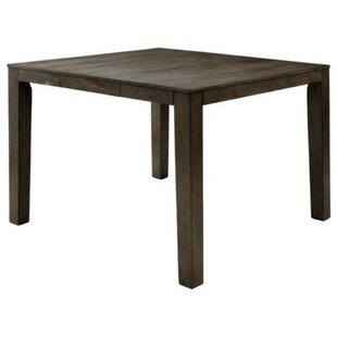 Procter Transitional Counter Height Solid Wood Dining Table